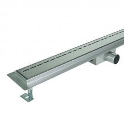 Odpływ liniowy SANITLINE model LINE 60 cm niski syfon 52 mm