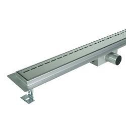 Odpływ liniowy SANITLINE model LINE 80 cm niski syfon 52 mm