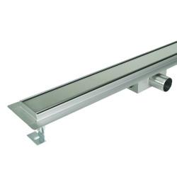 Odpływ liniowy SANITLINE model CLASSIC 90 cm niski syfon 52 mm